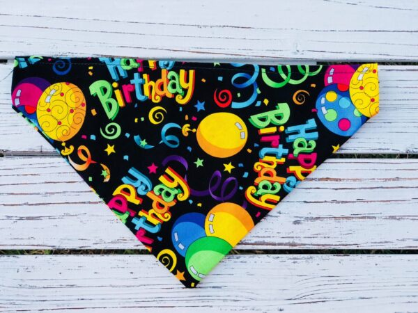 Birthday Dog or Cat Bandanna Blanchards Treats