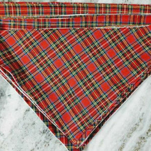 Plaid Bandanna Blanchard's Treats