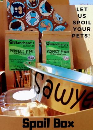 Blanchard's Dog Treats Spoil Box