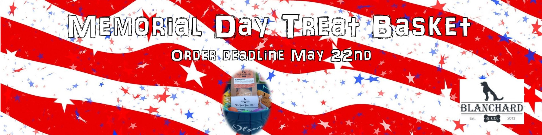 Memorial Day Treats Blanchard & Co Treats Gibsonville NC 27249