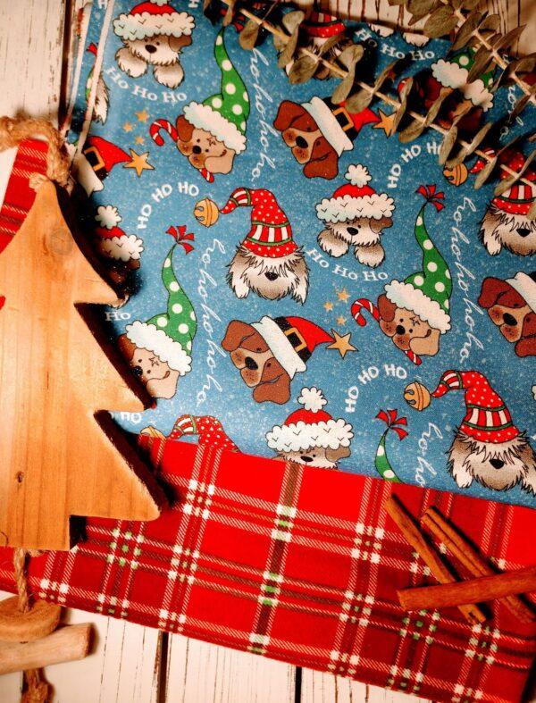 Ho Ho Ho Slide Over Collar Bandanna Blanchard & Co Gibsonville NC 27249