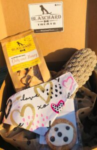 Spoil Your Dog Subscription Box Blanchard and Co Gibsonville NC 27249