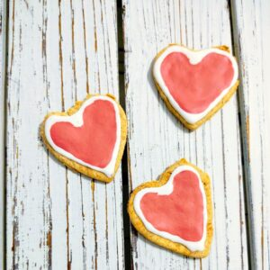 Heart Iced Cookies Blanchard and Co Gibsonville NC 27249
